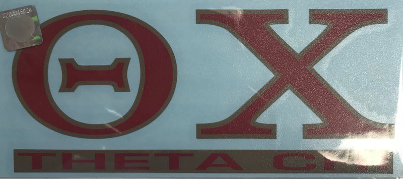Fraternity Color Shock Decal