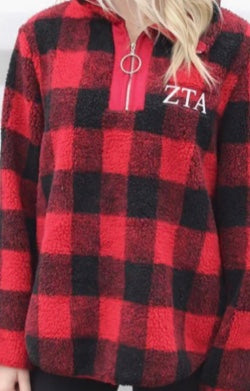 Buffalo Plaid 1/4 Zip