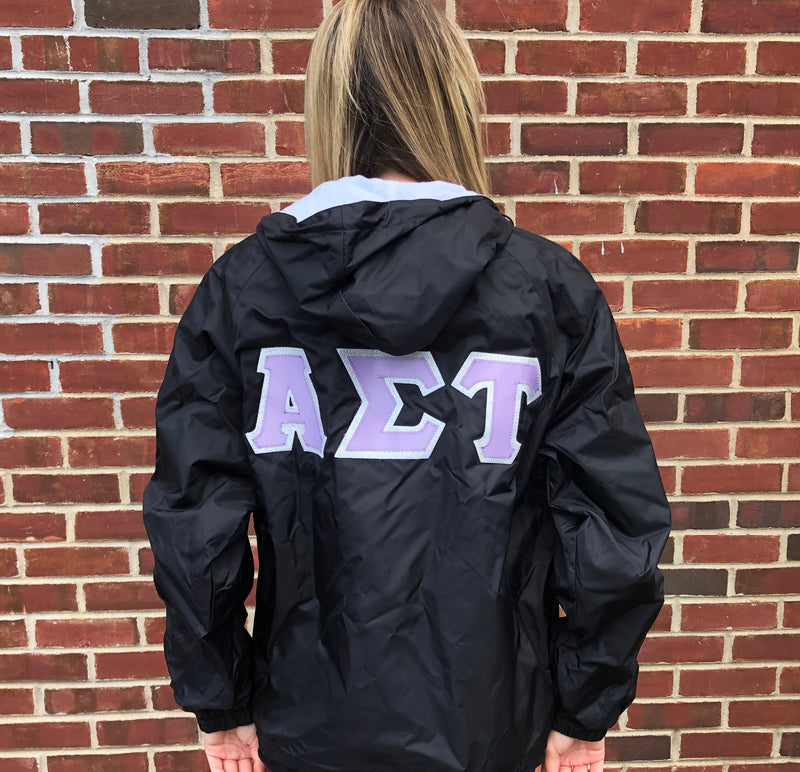 Charles Rivers Custom Sorority Jacket 4 Inch Greek Letters and Sleeves