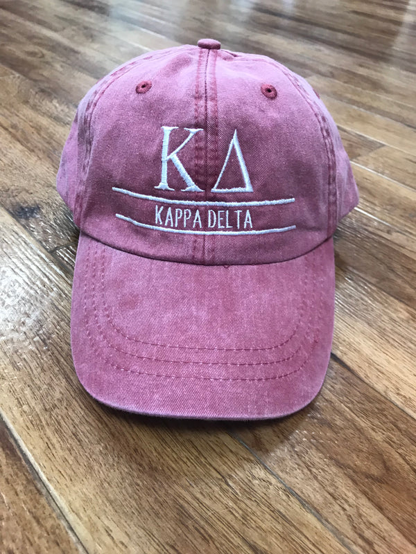 Sorority Vintage Cap Bar Design