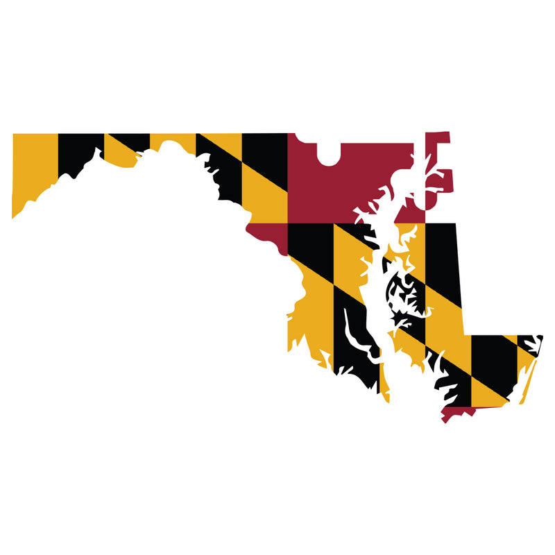 Maryland Vinyl Decal