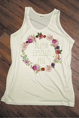 Sorority Floral design