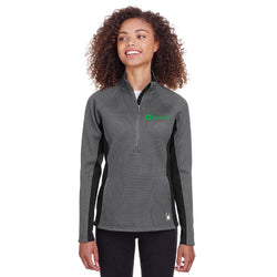 Omnicell Spyder Ladies Constant Half-Zip Sweater