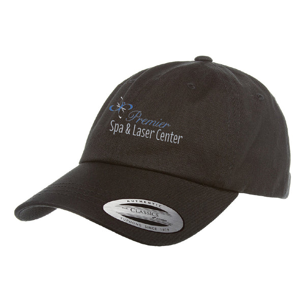 Premier Spa & Laser Center Yupoong Adult Low-Profile Cotton Twill Dad Cap