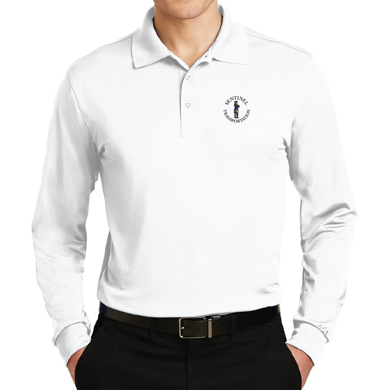 Sentinel Sport-Tek Long Sleeve Micropique Sport-Wick Polo
