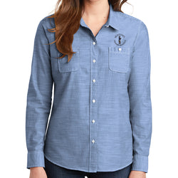 Sentinel Port Authority Ladies Slub Chambray Shirt