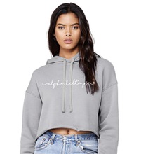 Cropped Fleece Hood
