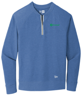 Omnicell Sueded Cotton Blend 1/4-Zip Pullover