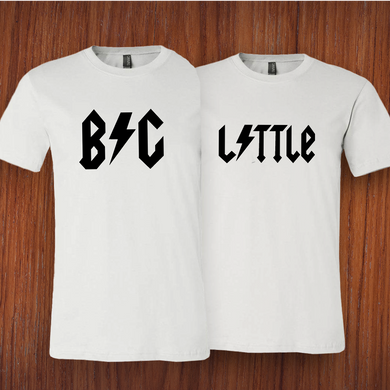 Big Little ACDC Tee