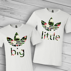 Big Little Adidas Tee
