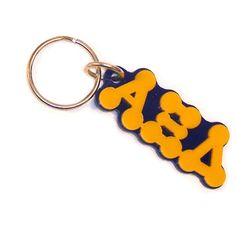 Sorority Bubble Keychain