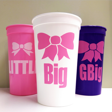 Big Little Personalized Cups