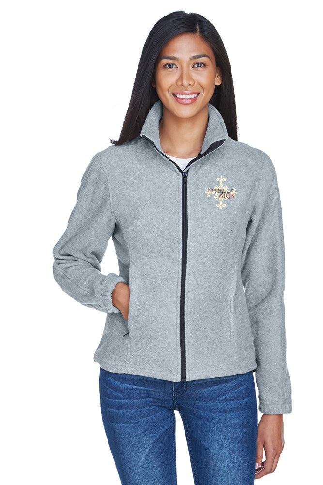 Delaware Surgical Arts UltraClub Ladies' Iceberg Fleece Full-Zip with Logo Only