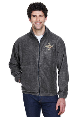 Delaware Surgical Arts UltraClub Men's Iceberg Fleece Full-Zip Jacket with Logo Only