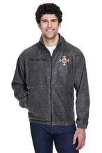 Delaware Surgical Arts UltraClub Men's Iceberg Fleece Full-Zip Jacket with Custom Name & Title