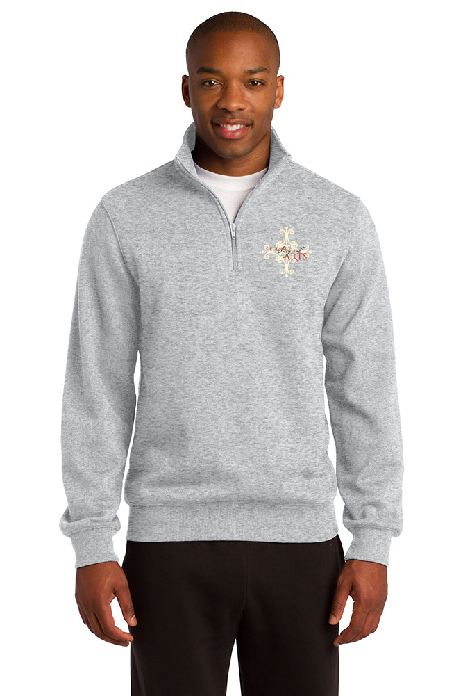 Delaware Surgical Arts Sport-Tek 1/4-Zip Sweatshirt with Logo Only