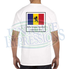 Flag Pocket Tee, Delta Kappa Epsilon