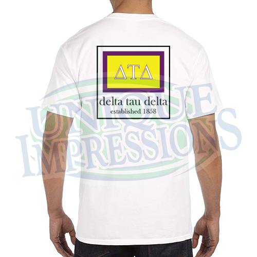 Flag Pocket Tee, Delta Tau Delta