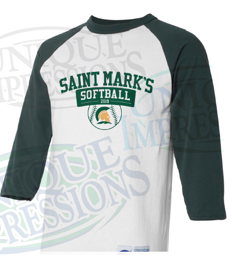 SMH Softball Raglan Tee