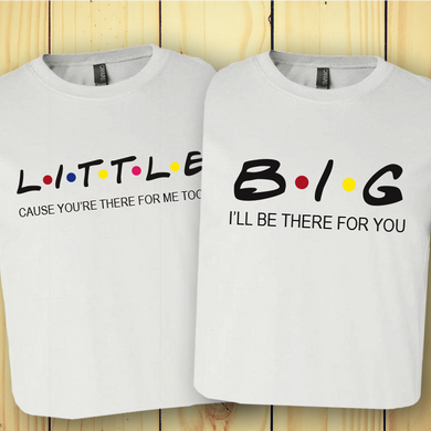 Big Little Friends Tee