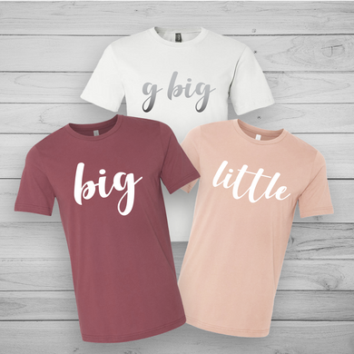 Big Little & GBig Tee