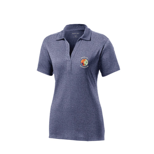 WCBC Ladies Heathered Polo