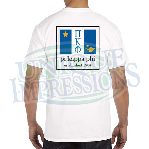 Flag Pocket Tee, Pi Kappa Phi