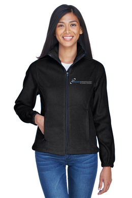 Premier Dermatology UltraClub Ladies' Iceberg Fleece Full-Zip with Premier Logo Only