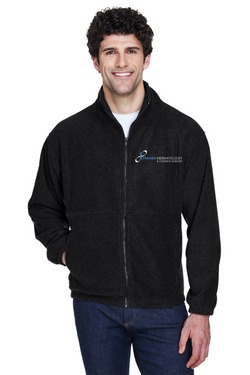 Premier Dermatology UltraClub Men's Iceberg Fleece Full-Zip Jacket with Premier Logo Only