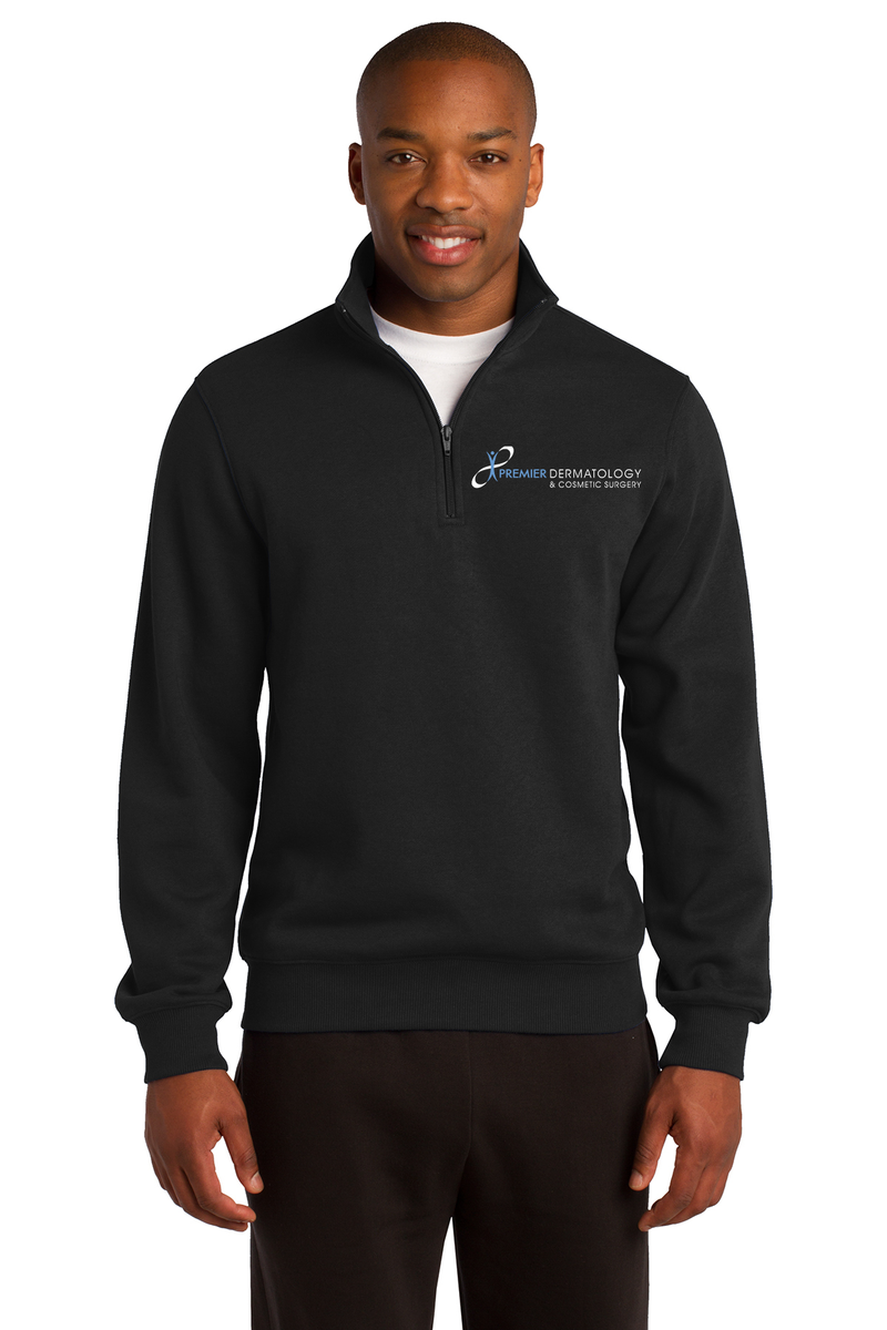 Premier Dermatology Sport-Tek 1/4-Zip Sweatshirt with Custom Name & Title