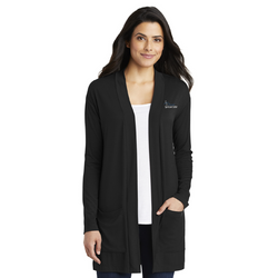 Premier Spa & Laser Center Port Authority Ladies Concept Long Pocket Cardigan