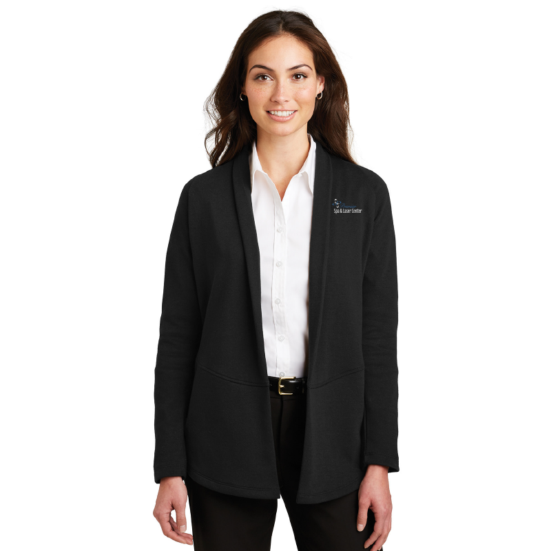 Premier Spa & Laser Center Port Authority Ladies Interlock Cardigan