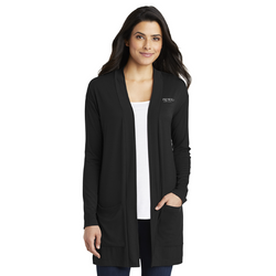 Premier COSMETIC Port Authority Ladies Concept Long Pocket Cardigan