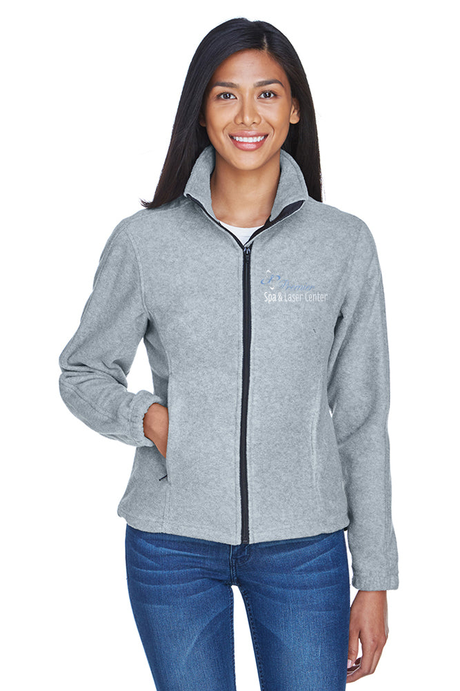 Premier Spa & Laser Center UltraClub Ladies' Iceberg Fleece Full-Zip with Premier Logo Only