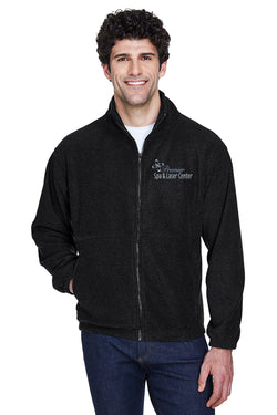 Premier Spa & Laser Center UltraClub Men's Iceberg Fleece Full-Zip Jacket with Premier Logo Only