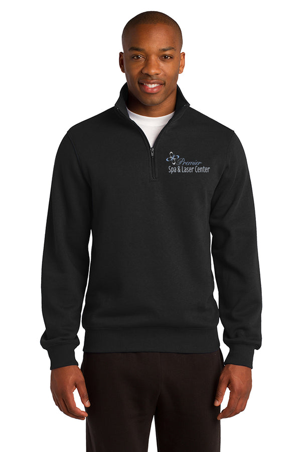 Premier Spa & Laser Center Sport-Tek 1/4-Zip Sweatshirt with Custom Name & Title