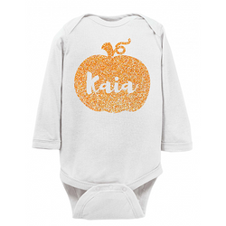 Pumpkin Name Onesie
