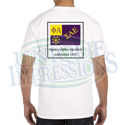 Flag Pocket Tee, Sigma Alpha Epsilon