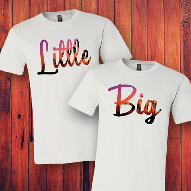 Big Little South Beach Tee