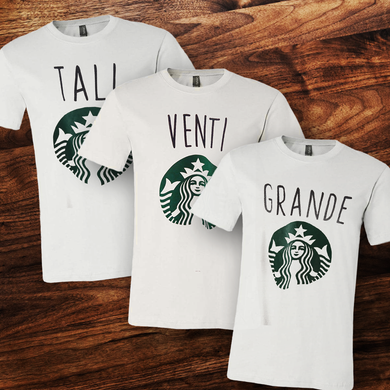 Big Little Starbucks Tee