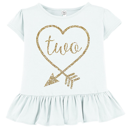 Arrow Heart Two Kids' T-Shirt