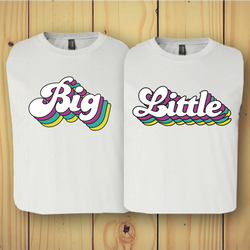 Big Little Vintage Barbie Tee