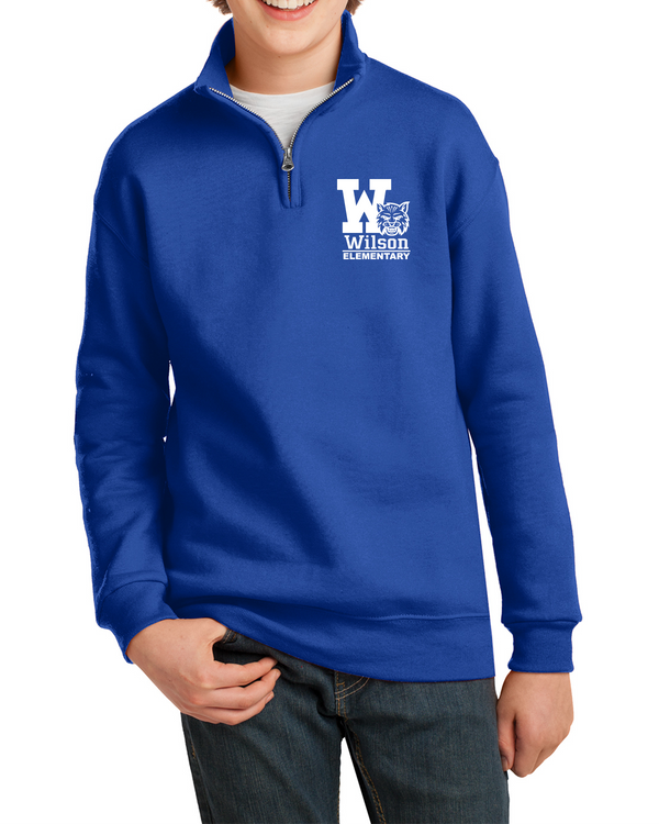 Wilson Elementary NuBlend 1/4-Zip Sweatshirt 995m (Adult/Youth)