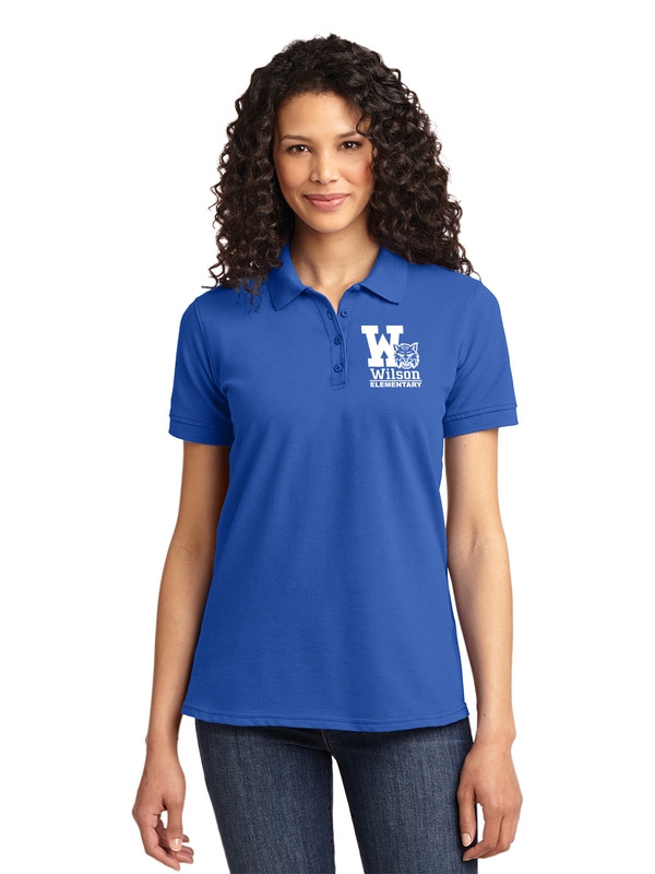 Wilson Elementary Core Blend Pique Polo (Adult & Ladies) KP155