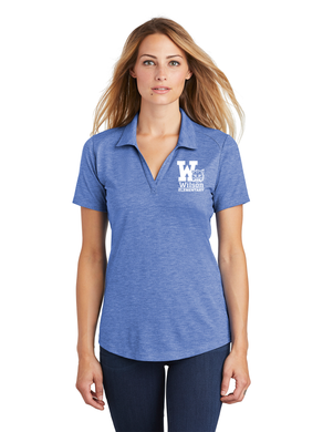 Wilson Elementary Tri-Blend Wicking Polo (Adult & Ladies) ST405