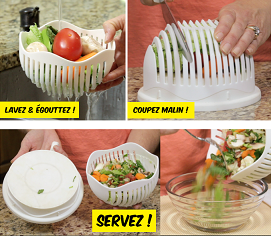 coupe salade maker