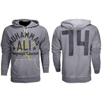 Muhammad Ali - Bee 74 Mens French Terry Pullover Hoodie