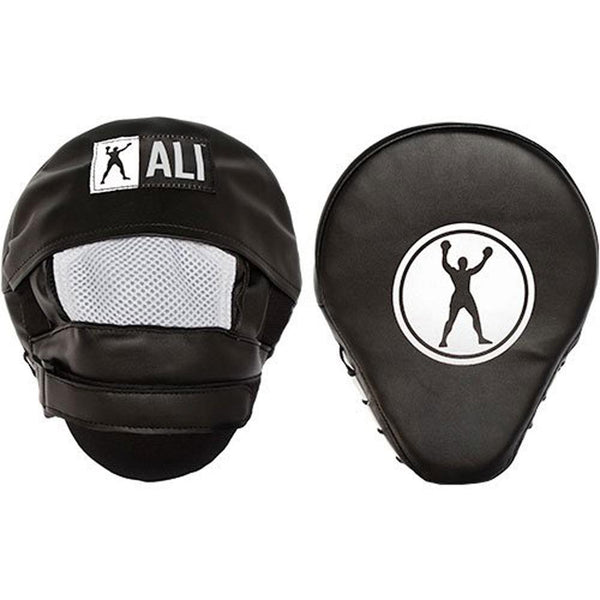 Muhammad Ali - Boxer Circle Outline Curved Focus Mitts