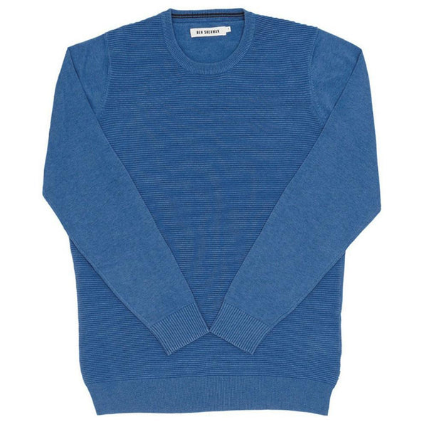 Ben Sherman - The Ripple Stitch Mens Crewneck Sweater