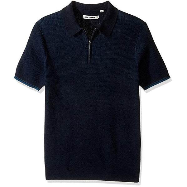Ben Sherman - The Tonic Mens Zip Polo Shirt